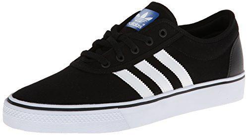 adidas Originals Men's Adi-Ease Skate Shoe,Black/White/Black,9 M US