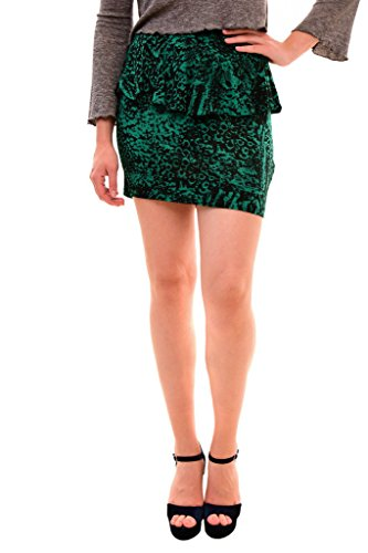 Diesel Women's Authentic 0-Ruth -A Gonna Skirt Green Size S