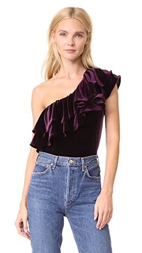 Misa Women's AGUS Top, Plum Velvet, Medium