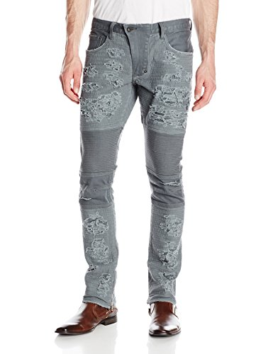 PRPS Goods & Co.. Men's Windsor Skinny Fit, Dark Gray, 34
