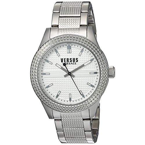 Versus by Versace Women's Bayside Analog Display Quartz Silver Watch