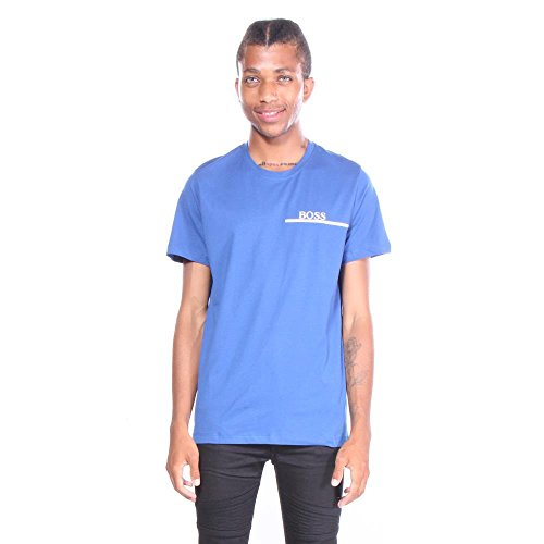 Hugo Boss Men's T-Shirt, Bright Blue, Small