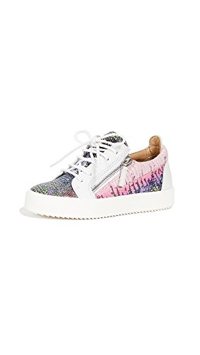Giuseppe Zanotti Women's Zip Side Sneakers, Multi, 38 IT