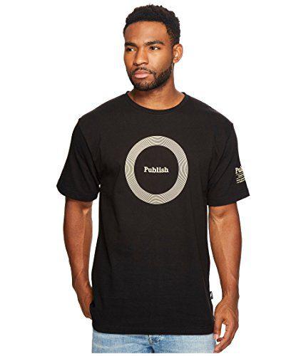 Publish Men's Publish Sounds Print T-Shirt Black Shirt