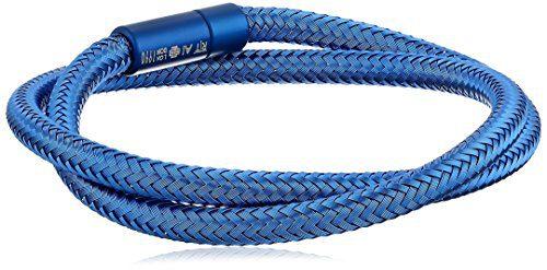 Tateossian Men's Soho Medium Blue Bracelet