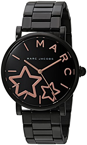 Marc Jacobs Women's 'Classic' Quartz Stainless Steel Casual Watch, Color Black (Model: MJ3590)