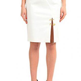 Versace Versus White Women's Pencil Skirt US S IT 40
