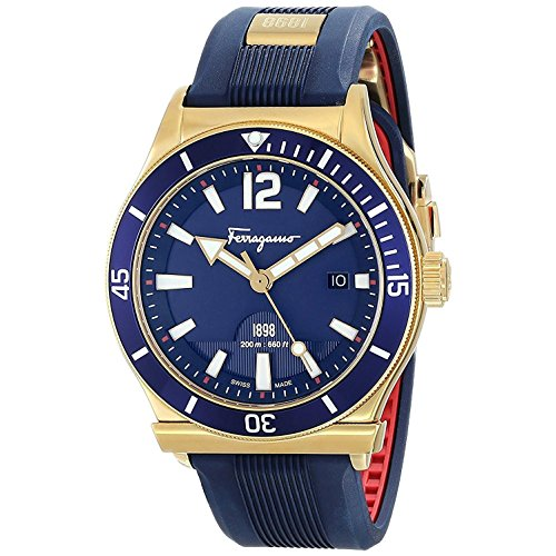Salvatore Ferragamo Sport Men's Blue Dial Watch