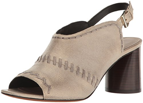 Donald J Pliner Women's Hemisp-T8 Pump, Light Taupe, 10 Medium US