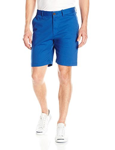 Original Penguin Men's 9' Stretch Twill Short Slim, True Blue, 32