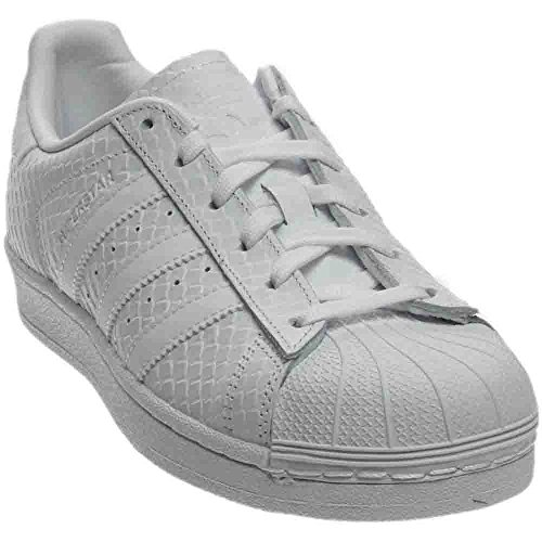 adidas Women's Superstar W Originals White Leather Casual Shoe 9