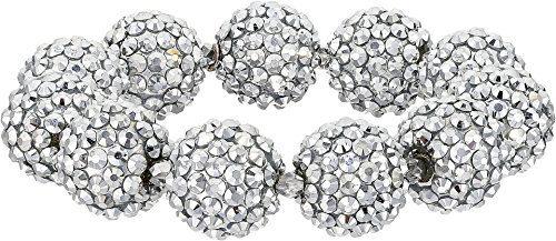 Kenneth Jay Lane Women's Crystal Pave Ball Stretch Bracelet Crytsal One Size