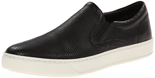 Vince Men's Ace Fashion Sneaker, Black, 11.5 M US