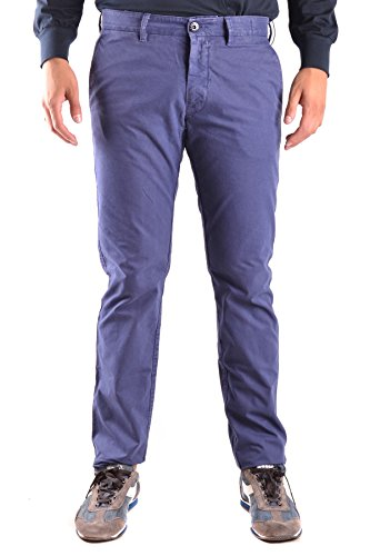 Stone Island Men's Blue Cotton Pants
