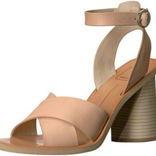 Dolce Vita Women's Athena Heeled Sandal, Natural Leather, 10 M US