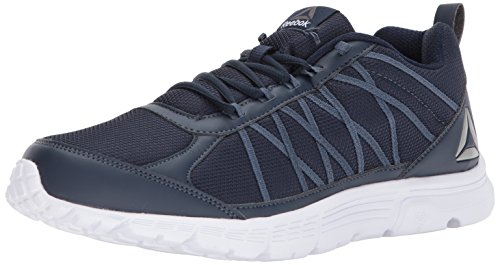Reebok Men's Speedlux 2.0 Sneaker, Collegiate Navy/Smoky Indigo, 10.5 M US