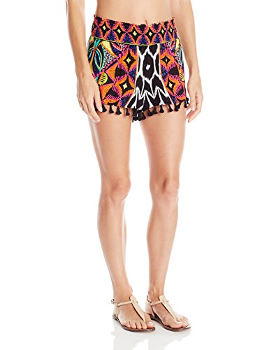 Trina Turk Women's Africana Shorts Cover up, Multi, Medium