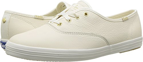 Keds x kate spade new york Women's Champion Cream Tumbled Leather 6 M US