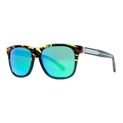 Marc by Marc Jacobs Square Sunglasses, Havana Green Crystal & Green, 54 mm