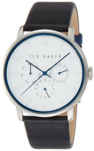 Ted Baker Men's Classic Analog Display Japanese Quartz Black Watch