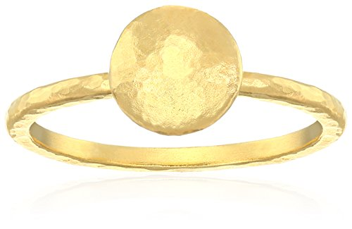 Gurhan Lentil 24k Gold Ring, Size 7