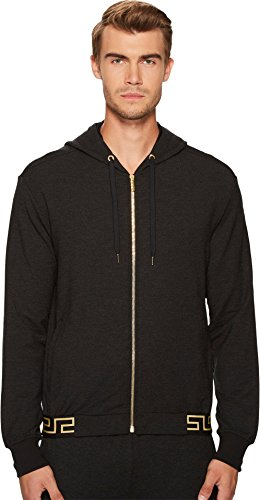 Versace Men's Track Jacket Black 4