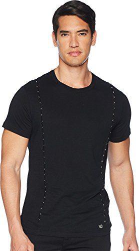 Versace Jeans Men's T-Shirt with Metal Accents Black 6