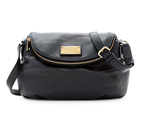 Marc by Marc Jacobs Large Natasha Leather Handbag (Black)