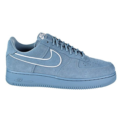 NIKE Air Force 1 '07 LV8 Suede Men's Shoes Noise Aqua/Noise Aqua aa1117-400 (13 D(M) US)