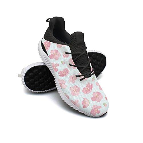 Pink Sakura Cherry Tree Blossom Men Shoes Running Shoe Casual Sneakers