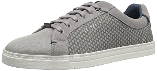 Ted Baker Men's Sarpio Sneaker, Grey, 10 D(M) US