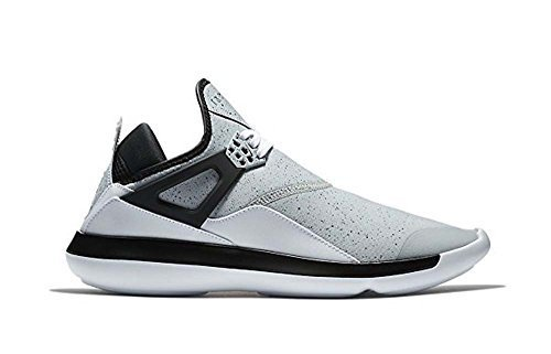 Jordan Men's Fly 89 Fashion Sneakers, Wolf Grey/White/Black (10)