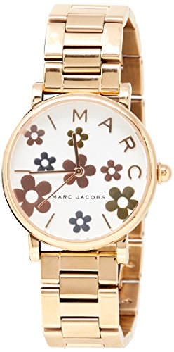 Marc Jacobs Women's 'Classic' Quartz Stainless Steel Casual Watch, Color Rose Gold-Toned