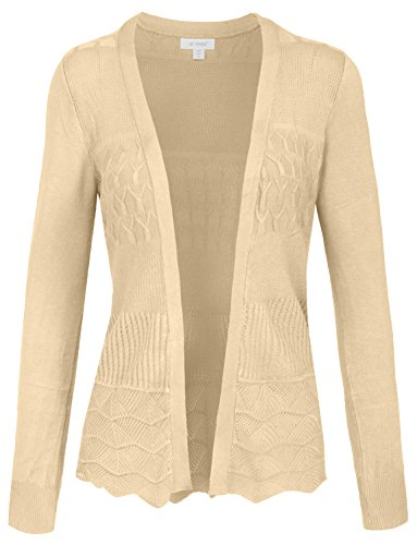 NE PEOPLE Women's Thin Lightweight Knit Long Sleeve Cardigan