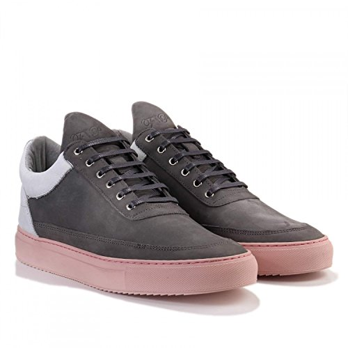 Filling Pieces Low Top Stainless Nude Grey -Grey (SIZE: 44)