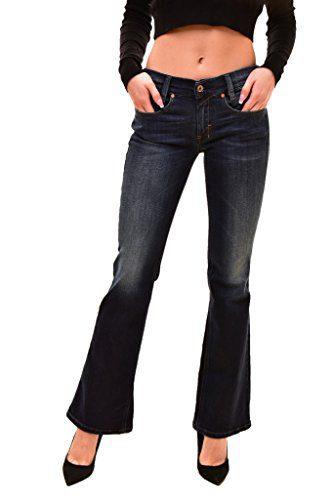 Diesel Women's Authentic Louvboot L.30 Jeans Blue Size W28 L30
