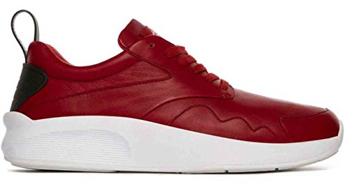 Article Number Nº Mens Low-cut Sneakers Shoes Red/White (9.5)