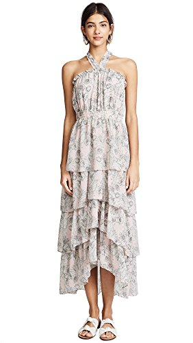 Misa Women's Valeria Dress, Pink Fe, Large