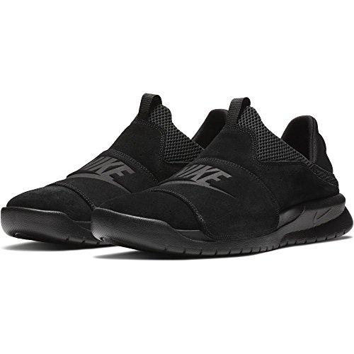 NIKE Benassi Slip Mens Lifestyle Sneakers Black/Black/Black (9 D(M) US)