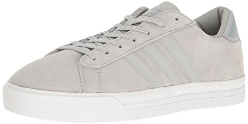 adidas Men's Cloudfoam Super Daily Fashion Sneakers, Clear Onix/Clear Onix/Footwear White, (9.5 M US)