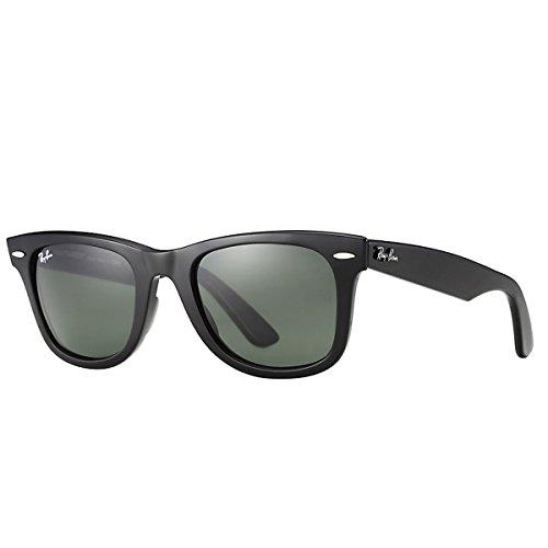 Ray-Ban Original Wayfarer Sunglasses, Black, 54mm