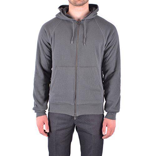 John Varvatos Star Luxe Men's Fleece Lined Hoodie, Seal Grey, M