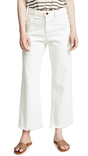 Women's Hepburn High Rise Wide Leg Jeans, Eggshell, 30