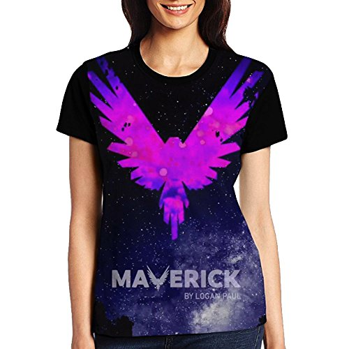 Logan Paul Be A Maverick Women's Raglan Short Sleeves Shirt