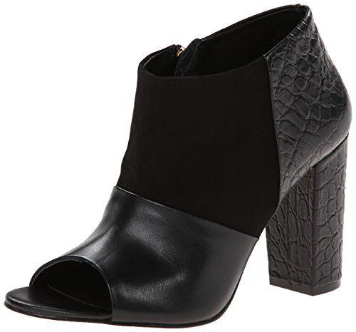 Trina Turk Women's Los Gatos Boot,Black,6 M US