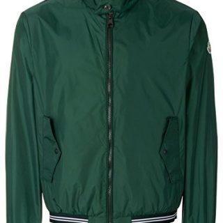 Moncler Men's Green Polyamide Outerwear Jacket