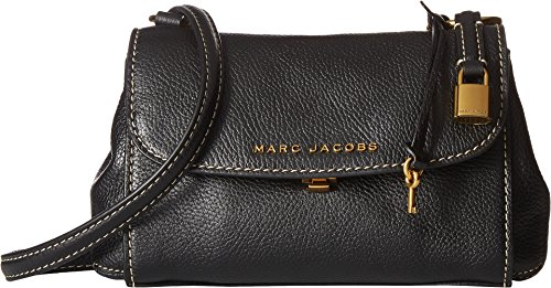 Marc Jacobs Women's Mini Boho Grind Bag, Black/Gold, One Size