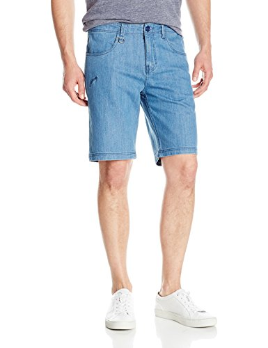 Publish Brand INC. Men's Ronin Short, Light Indigo, 38
