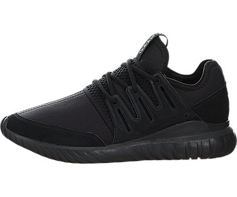 Tubular Radial Mens in Black/Black by Adidas, 10.5