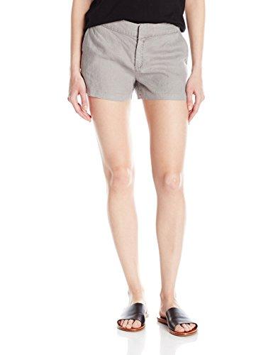 Michael Stars Women's Linen Classic Short, Galvanized, XS